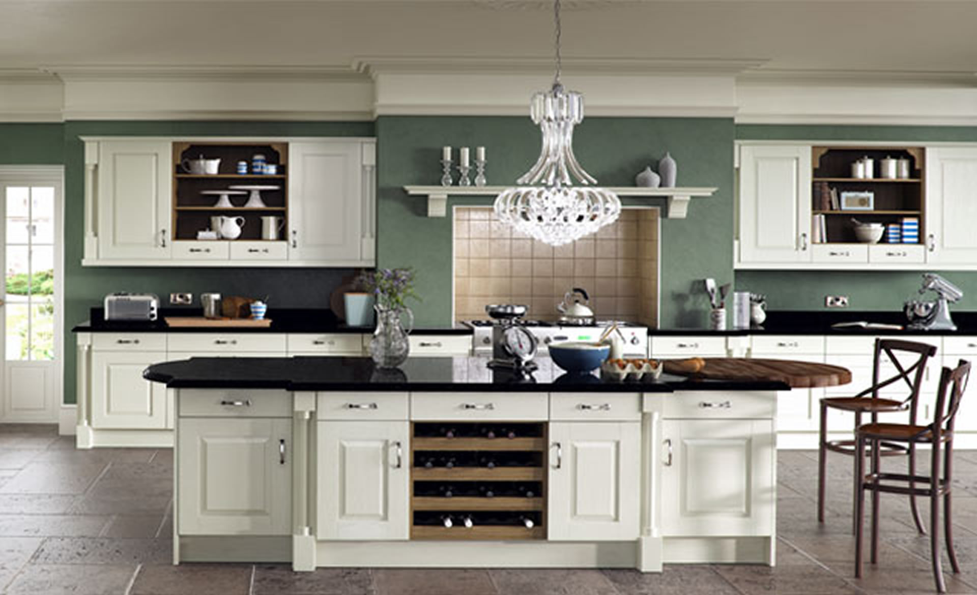 Kitchen Designs Winsdor Classic Ivory