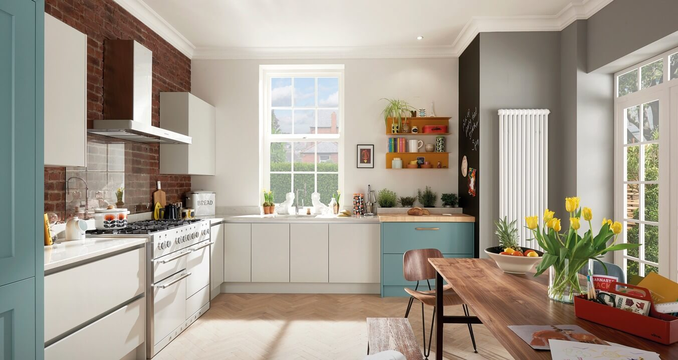Handleless Kitchen Designs - Style 2 view 2