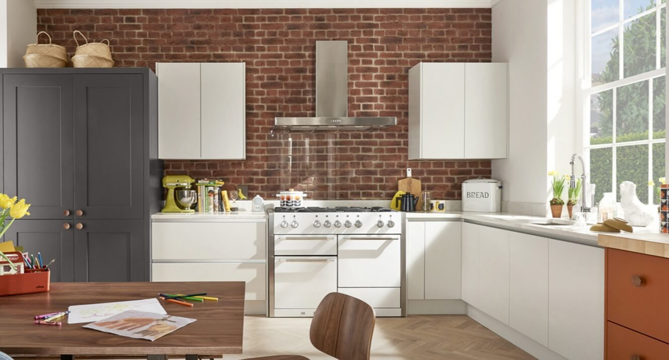 Handleless Kitchen Designs - Style 2 view 1