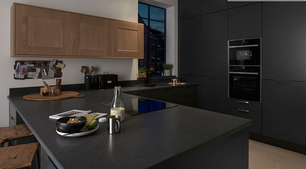 Handleless Kitchen Designs - Style 3 view 4