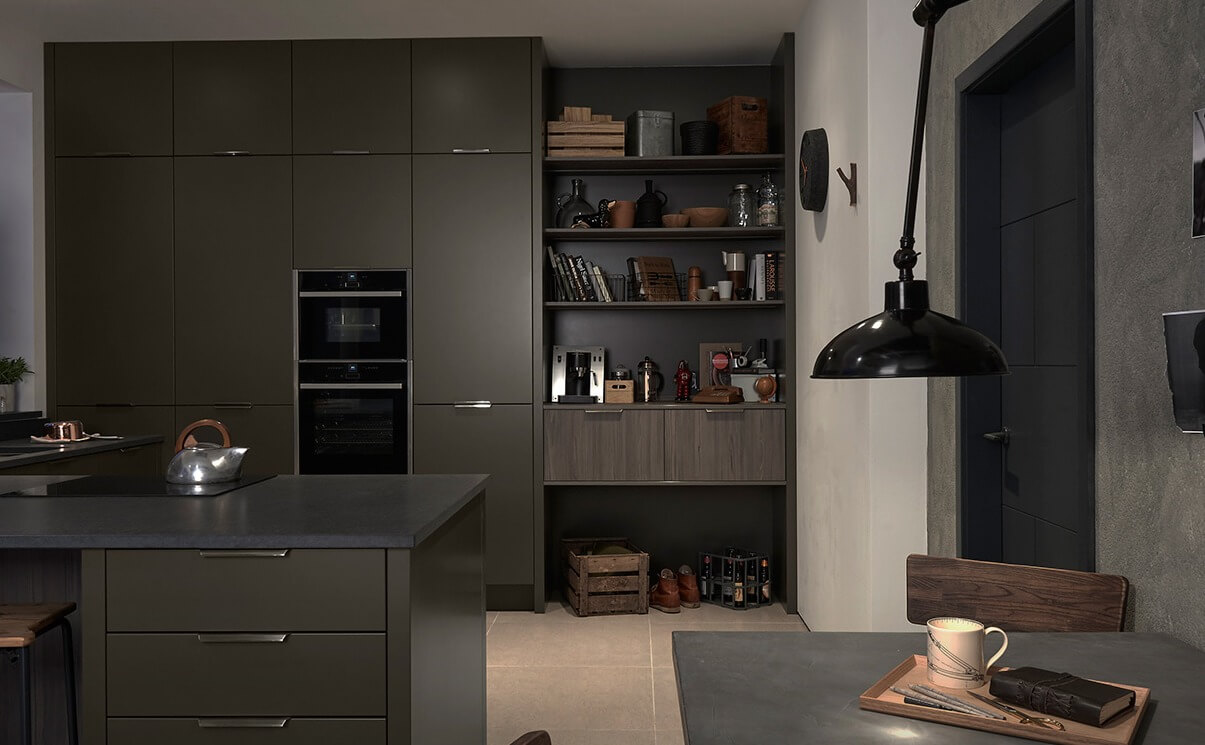 Handleless Kitchen Designs - Style 3 view 3