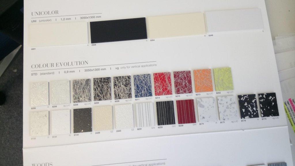 Laminate Panel Samples